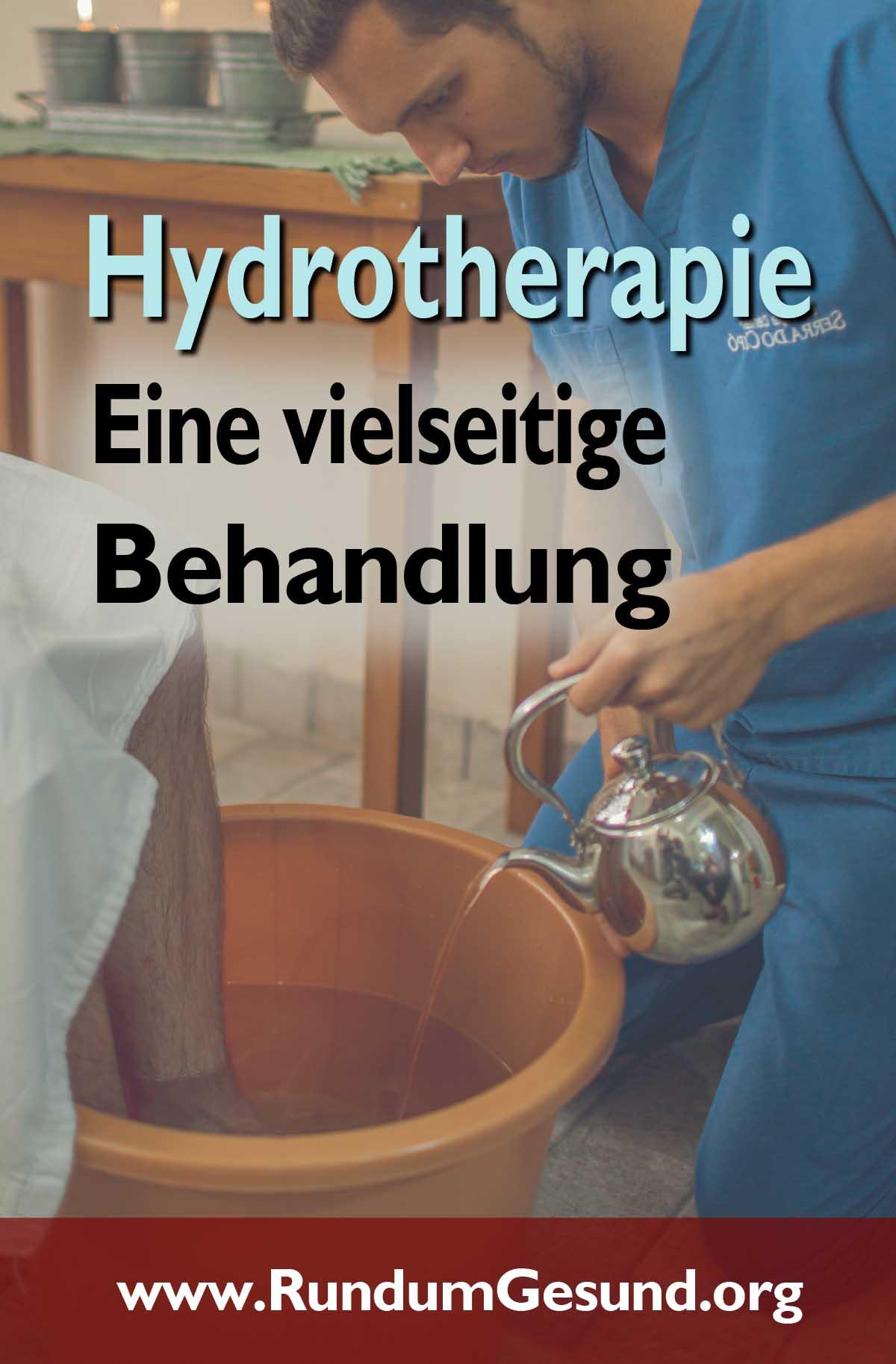Hydrotherapie - eine vielseitige Behandlung