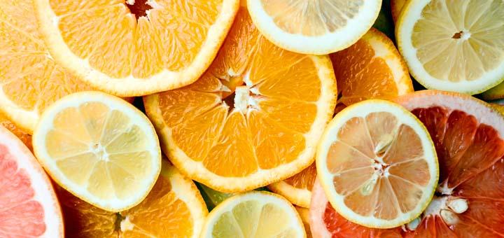 Zitrusfrüchte sind ene gute Vitamin C Quelle